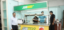 Sub Way Food Stall Opening